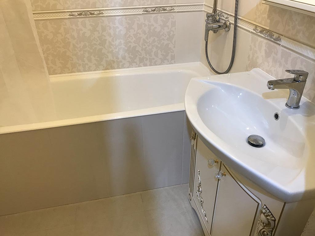 Штукатурка ванной и туалета