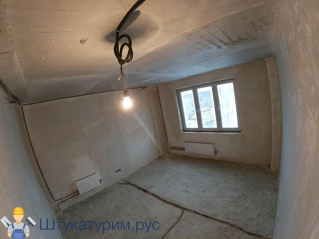 Машинная штукатурка 2-комнатная квартира Ильинские луга