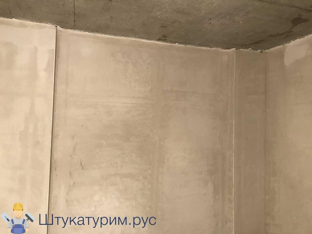 Штукатурка 1-комнатная квартира Марьино