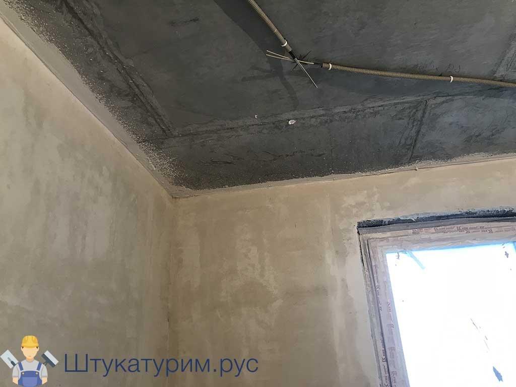 Оштукатуривание 1-комнатной квартиры Марьино