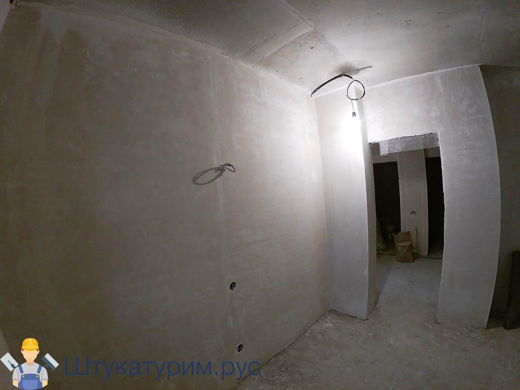 Механизированная штукатурка 2-комнатная квартира пос. Свердловский