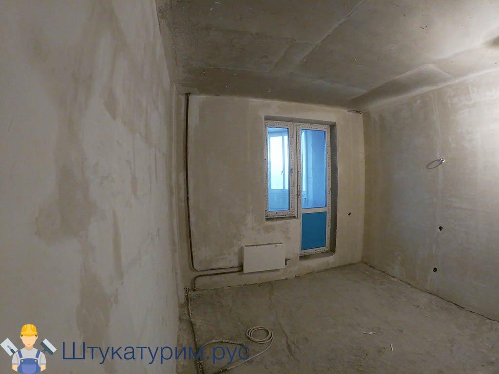 Машинная штукатурка 2-комнатная квартира пос. Свердловский