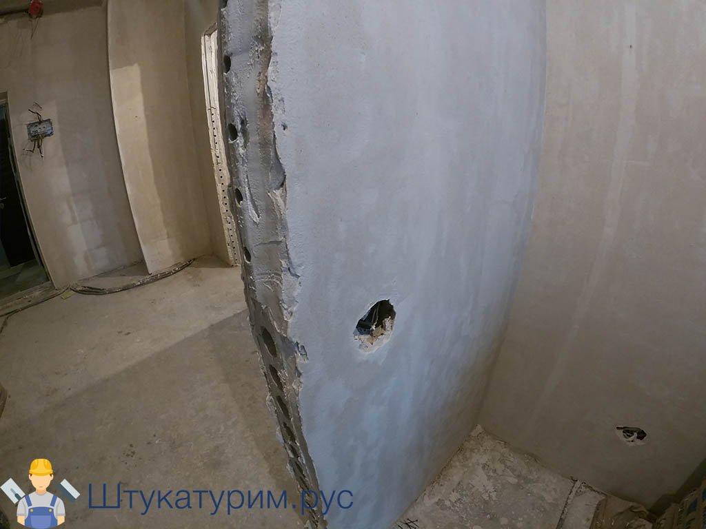 Штукатурка 2-комнатная квартира пос. Свердловский